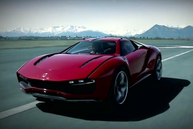 【ビデオ】オフロード走行も可能で、最高速度320km/hを誇るイタルデザイン「パルクール」の走行映像