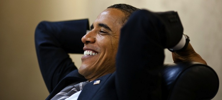 obama laughing, ten things that happened under obama's watch
