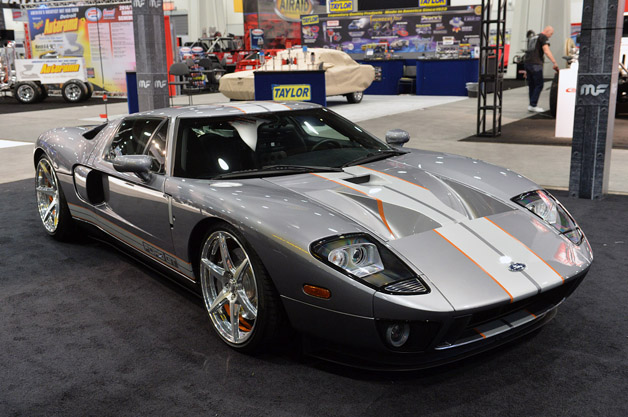 Chip Foose Tastefully Enhances His Personal Ford Gt