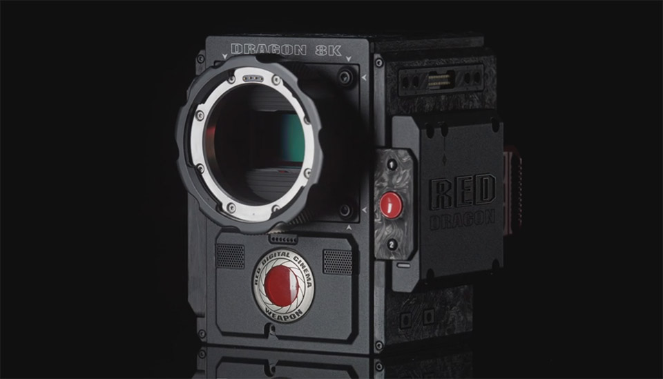 Red's latest 'Weapon' is an 8K full-frame camera