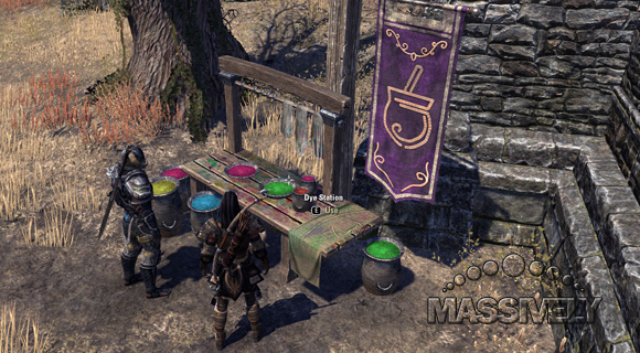eso dyes and how to get them