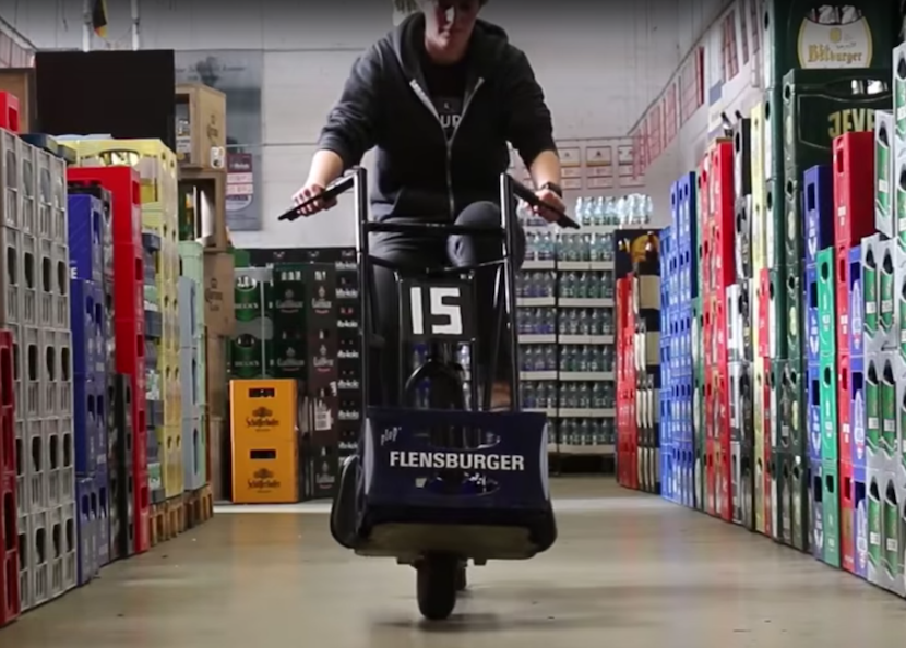 Beer Bike neu interpretiert: Das beste Fahrrad der Welt?