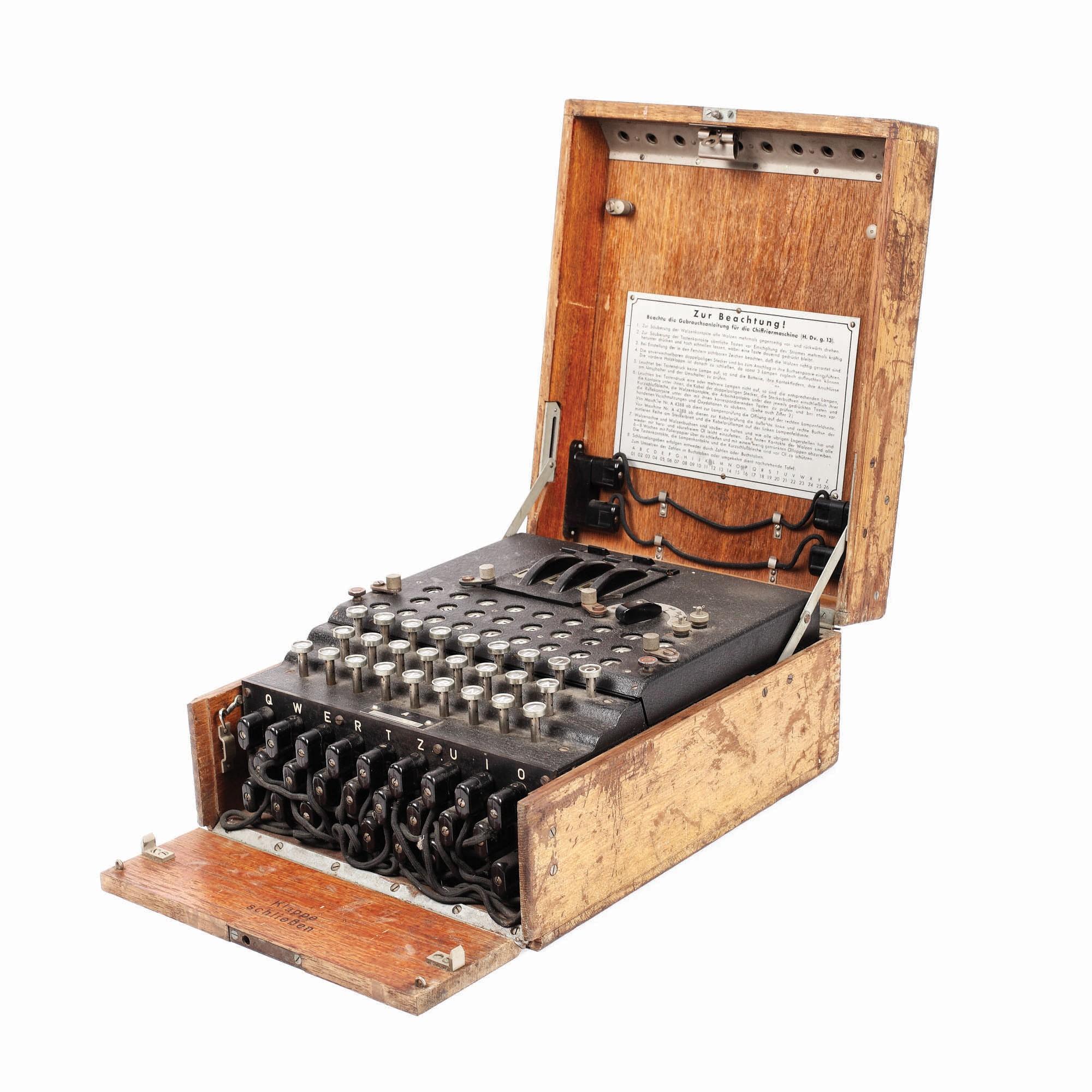 Schnäppchen: Wenn aus einer 100 €-Schreibmaschine eine 45.000 €-Enigma wird