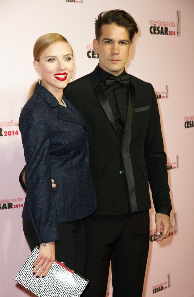 Has Scarlett Johansson married Romain Dauriac in secret?