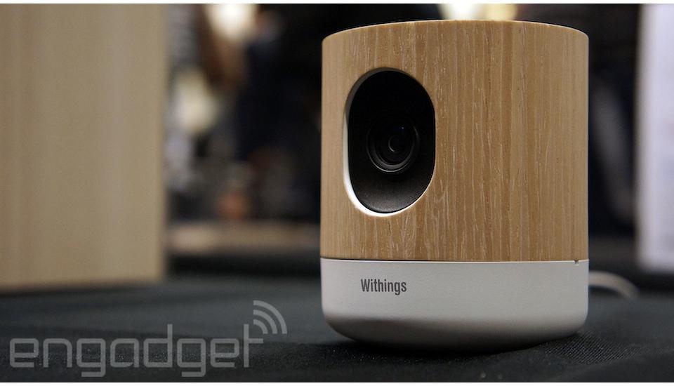Withings Home, la cámara de vigilancia que también vela por tu calidad ambiental
