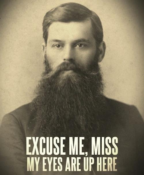 Funny beard shaving meme - photo#26