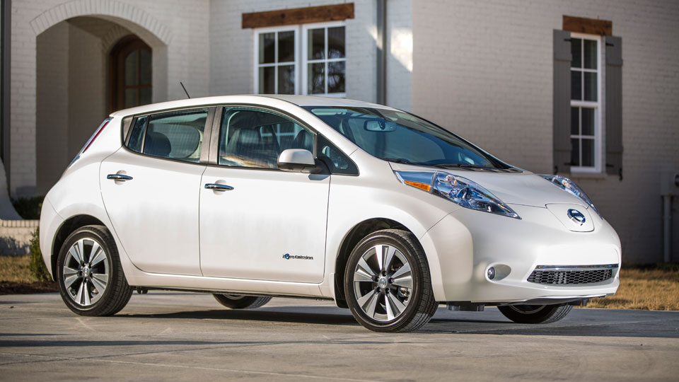 The 2015 Nissan Leaf