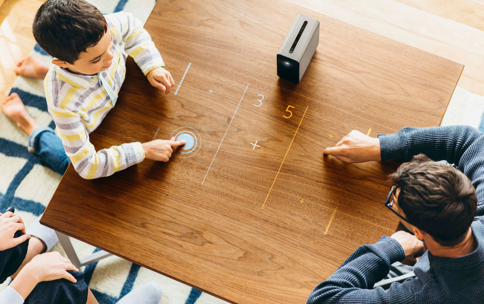photo image Sony's Xperia Touch projector arrives in the US at an absurd $1,700