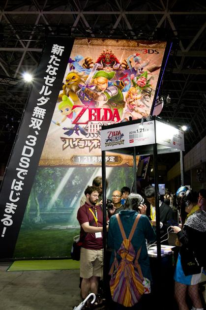 Engadget Japanese日本版TGS 2015:コナミ・DMM・ウォーゲーミング・コーエーテクモ他ブースツアー