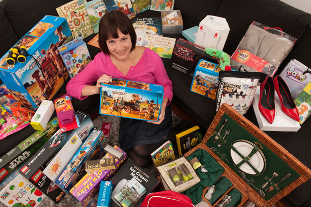 Competition addict mother Di Coke lives life of luxury after winning £250,000 worth of prizes