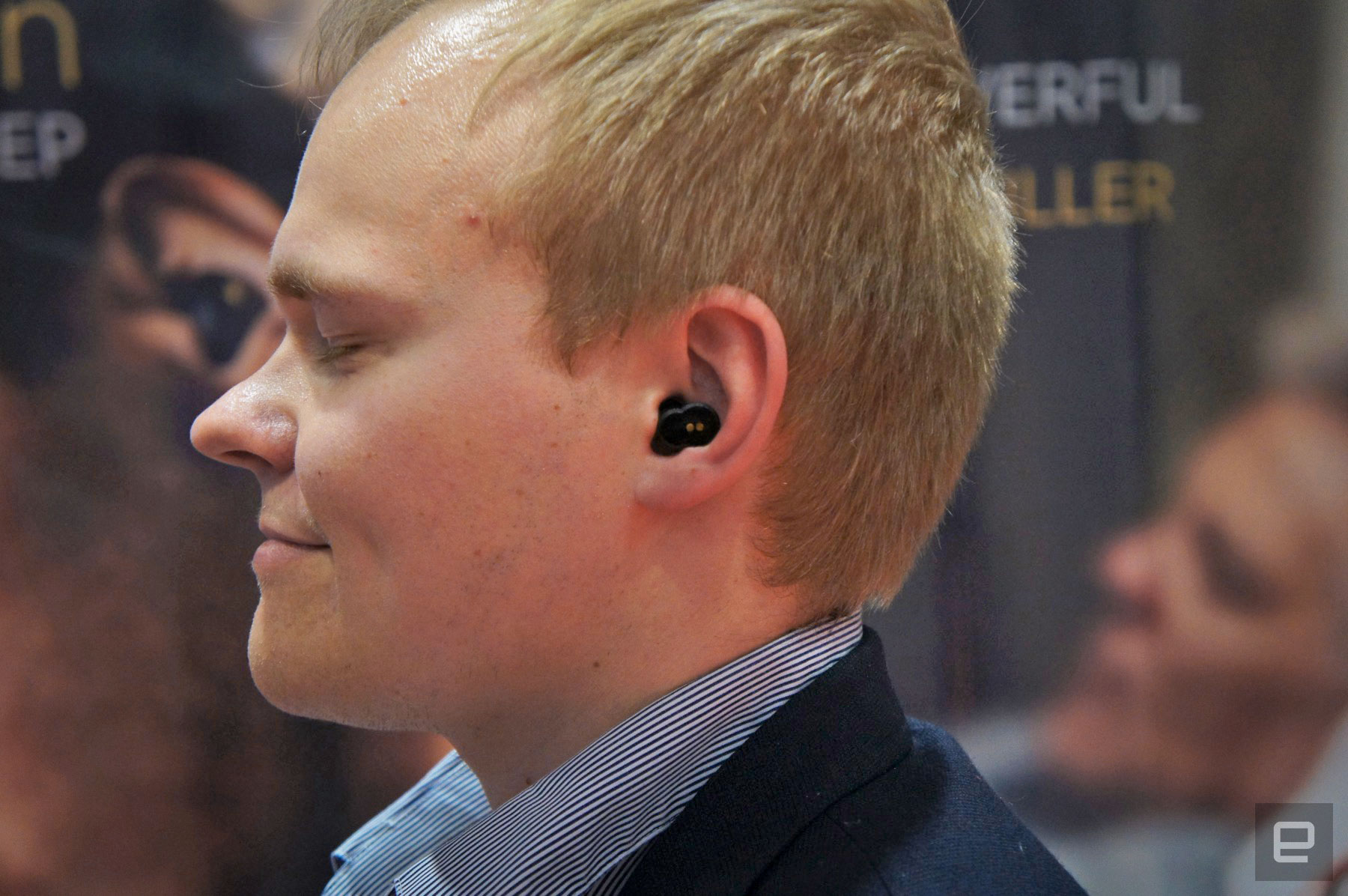 photo image QuietOn's new noice-cancelling earbuds banish the sound of snoring