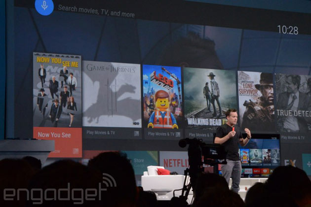 Google targets Amazon's and Apple's set-top boxes with Android TV platform