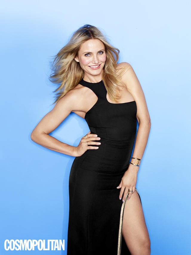 Cameron Diaz talks sex and sweating with Cosmopolitan