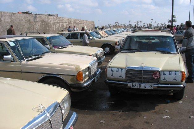 【レポート】モロッコ政府がメルセデス「W123」のタクシーを撲滅!?