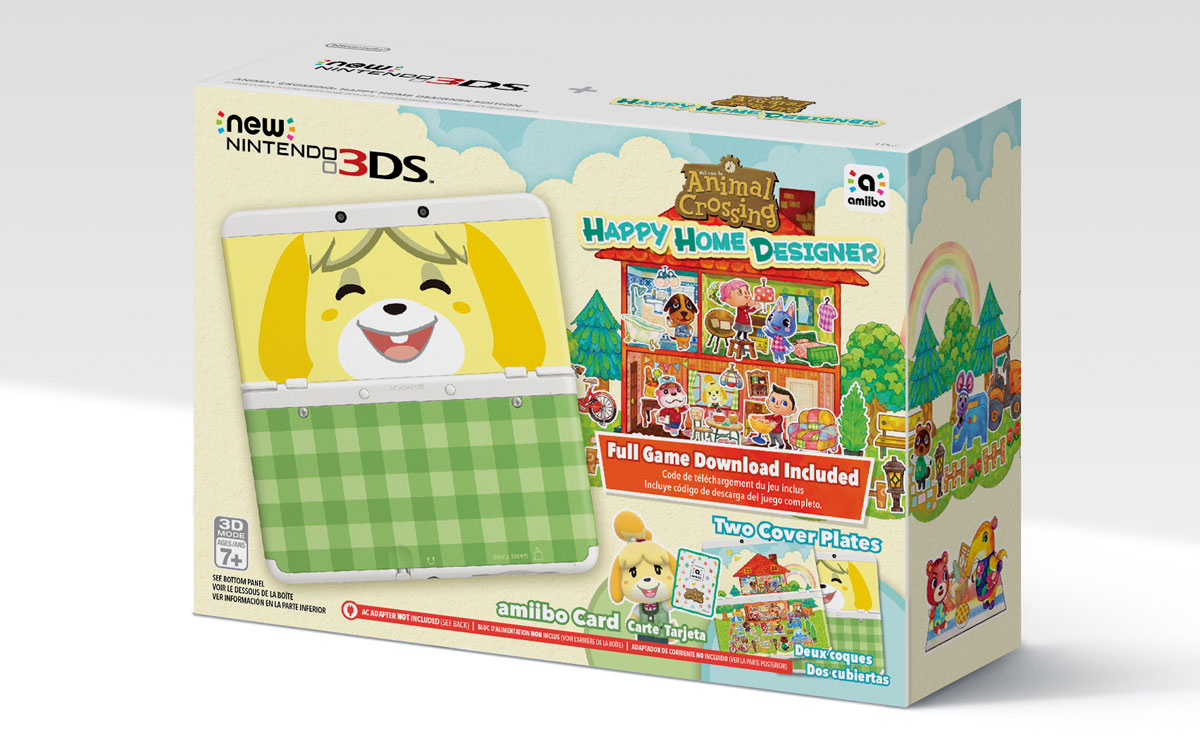 Nintendo's New 3DS bundled with 'Animal Crossing: Happy Hour Designer'