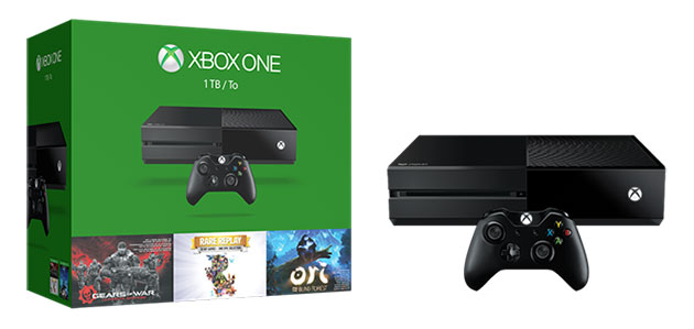 1TB Xbox One bundle includes 'Gears of War' and two more games for $399