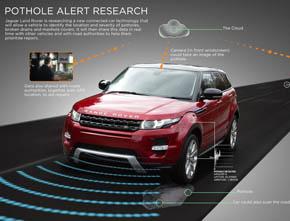 Land Rover Pothole Alert
