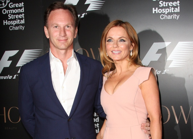 Geri Halliwell engaged to Formula 1 boss Christian Horner