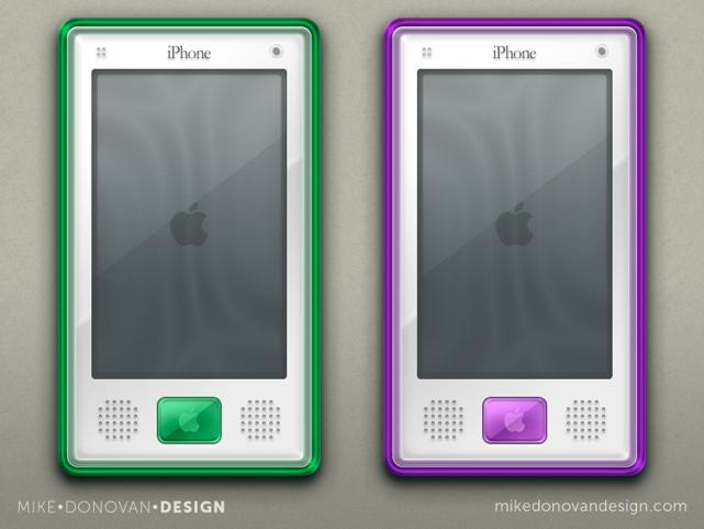 retro iphone concepts