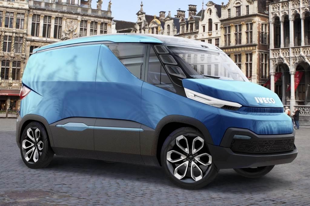 IAA, IAA Nutzfahrzeuge, Iveco, Iveco Vision Concept, Iveco Dual Energy, Iveco Tansporter, Lieferwagen, Transporter, Sprinter, Emissionsfrei,  schadstoff, CO2,