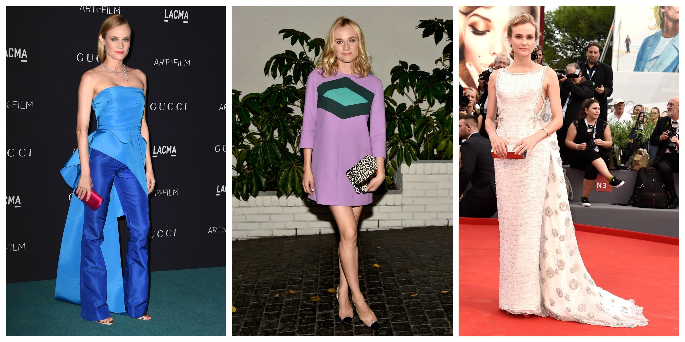 Diane Kruger celebrity style 2015