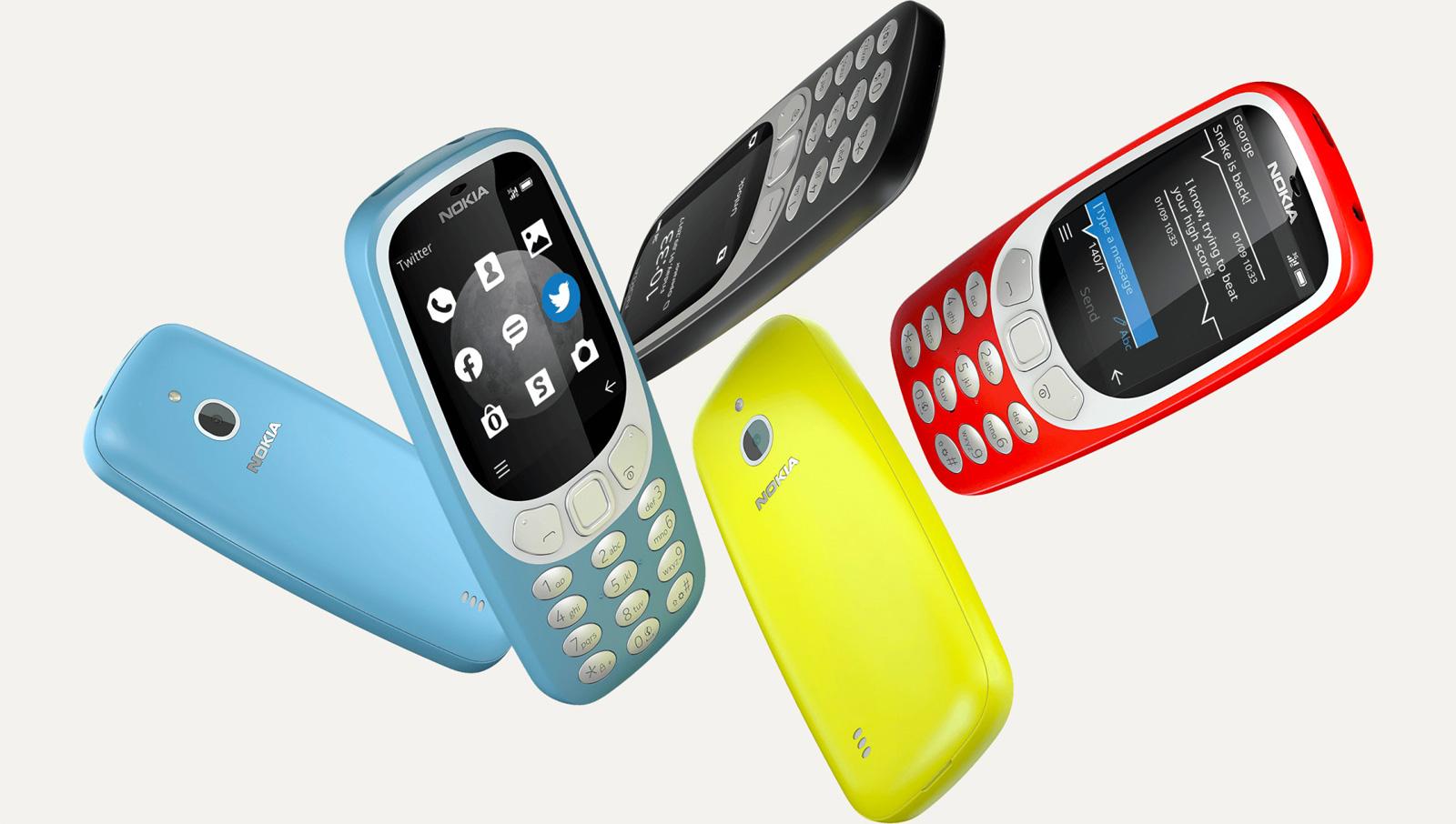 Nokia vuelve a reinventar el 3310 regalándole conexión 3G