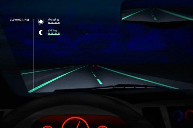 【レポート】オランダで開発中の暗闇で車線が光る「未来の高速道路」、導入は困難?