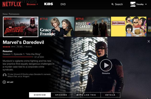 Netflix's slicker web interface launches worldwide in June