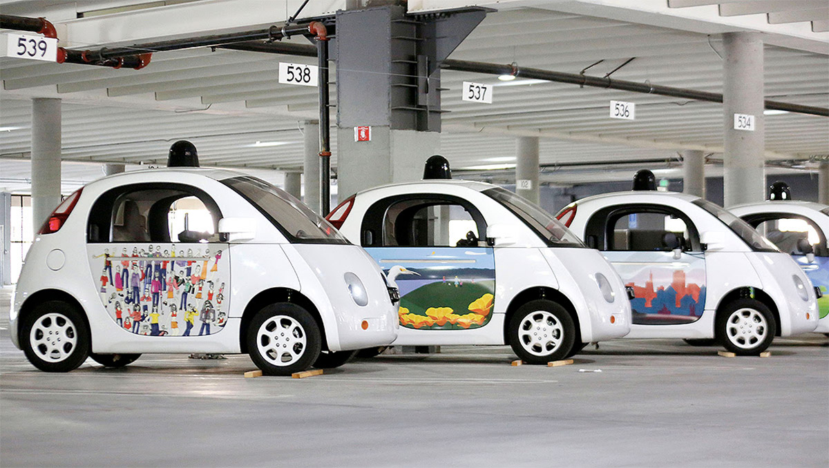 Google makes its self-driving cars friendlier with artist prints and colors