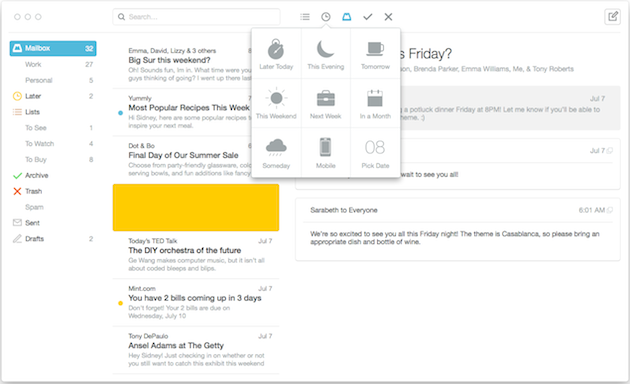 Mailbox for Mac begins rolling out in beta to a handful of lucky testers