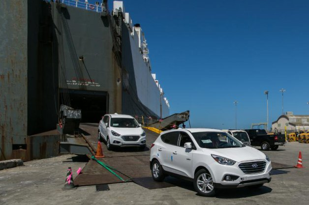 Hyundai Tucson Fuel Cell Deliveries