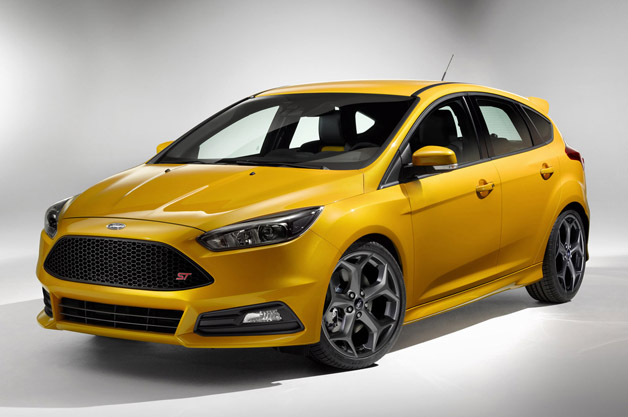 エアロダイナミックスが向上した新型フォード「フォーカスST」が初公開