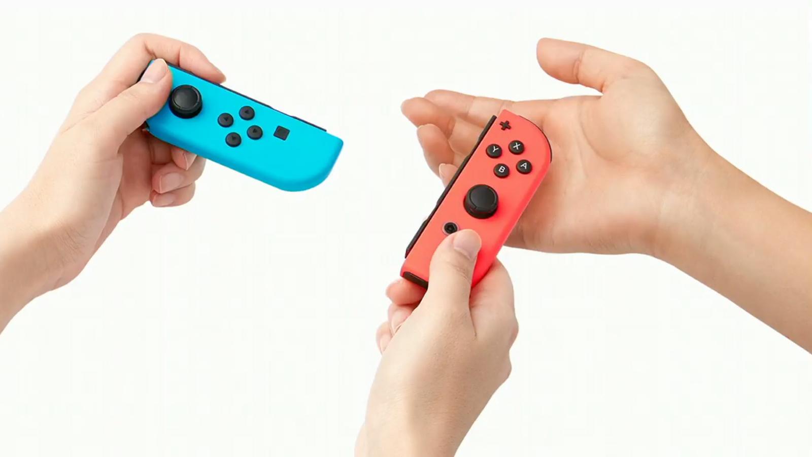 Die Joy-Con-Controller der Switch im Detail