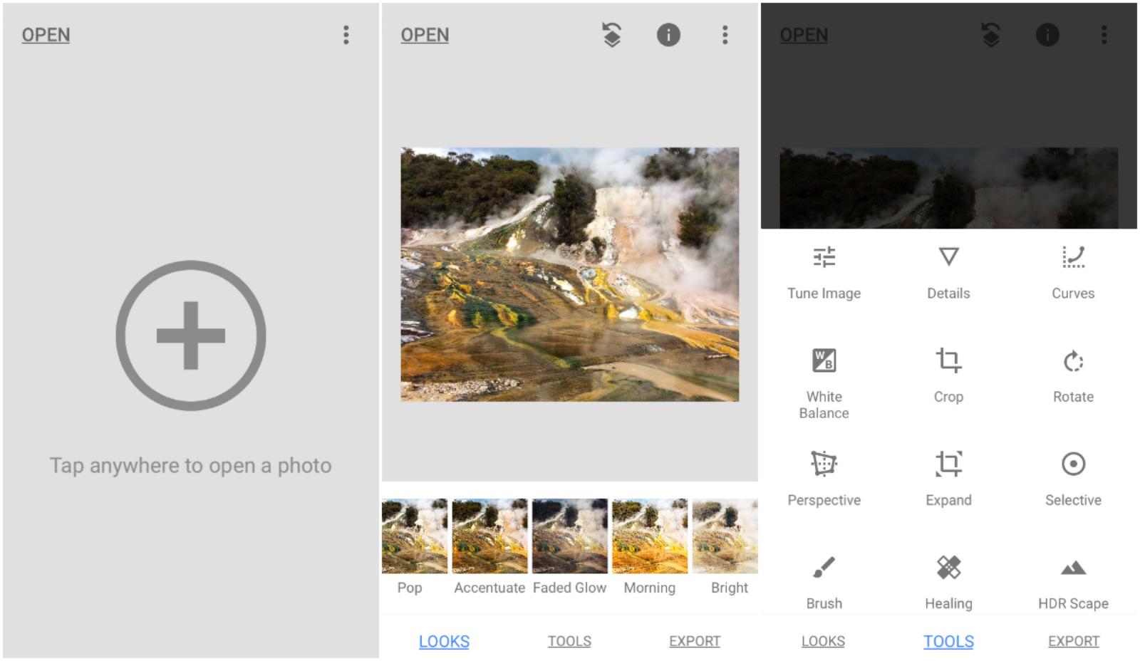 Snapseed se actualiza para seguir siendo tu app favorita de edición de fotos