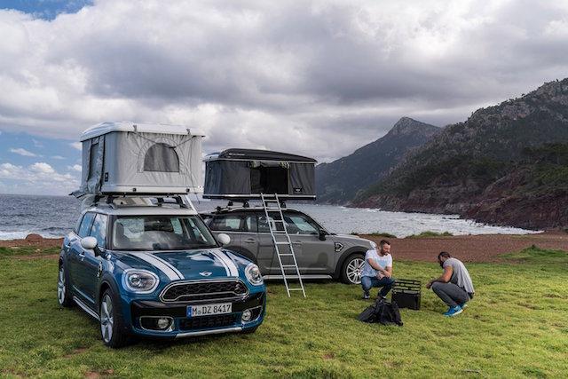 Mini release roof box tent for Countryman & Mini release roof box tent for Countryman - AOL UK Cars