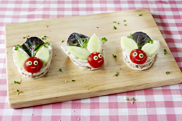 Squishy bug sandwich recipe