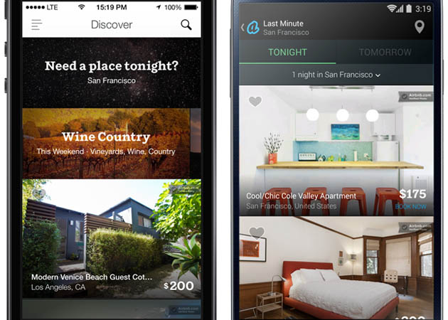 Airbnb goes instant: book stays for tonight or tomorrow, starting today
