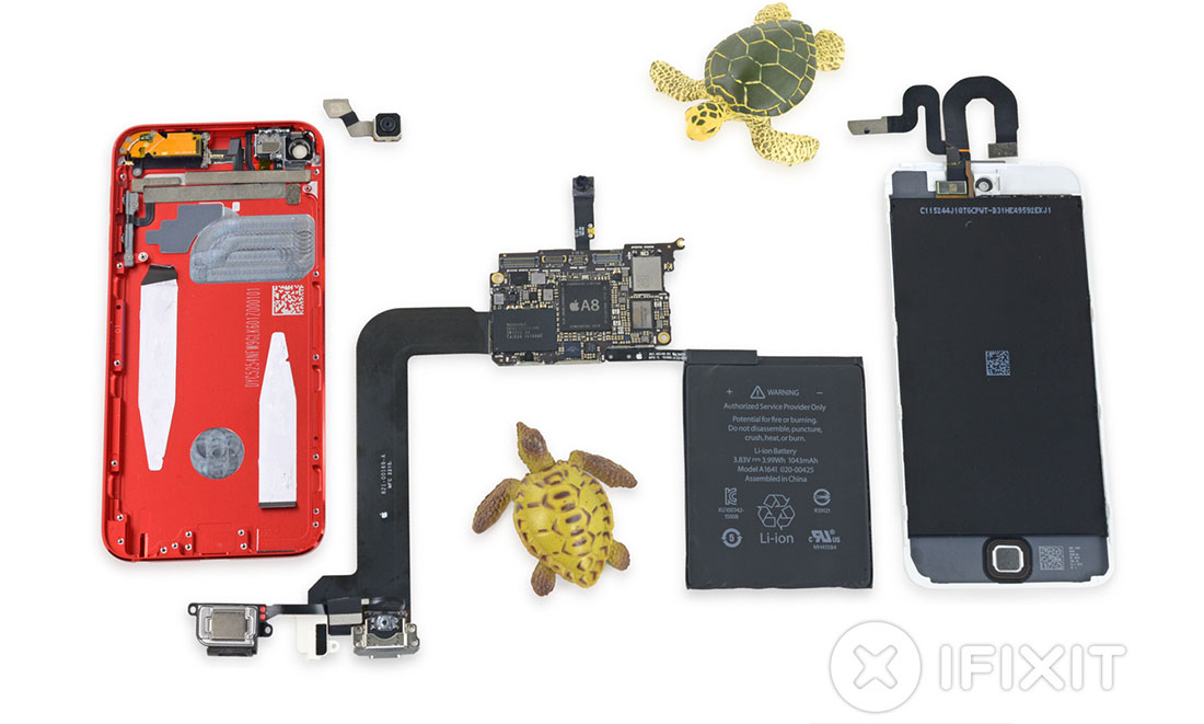 El nuevo iPod touch muestra músculo en su despiece