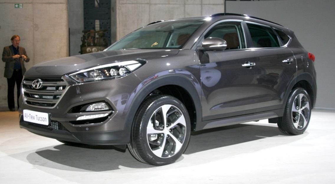 Premiere: Das ist der neue Hyundai Tuscon 2016