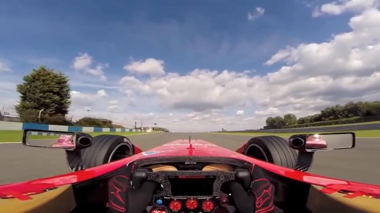 【ビデオ】フォーミュラEのマシンの速さが分かる映像!