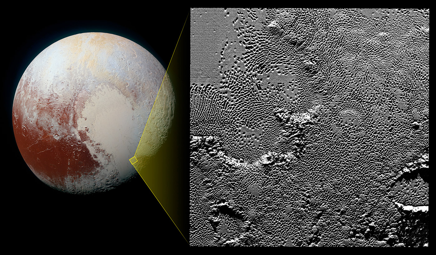 NASA releases an even closer look at Pluto's heart