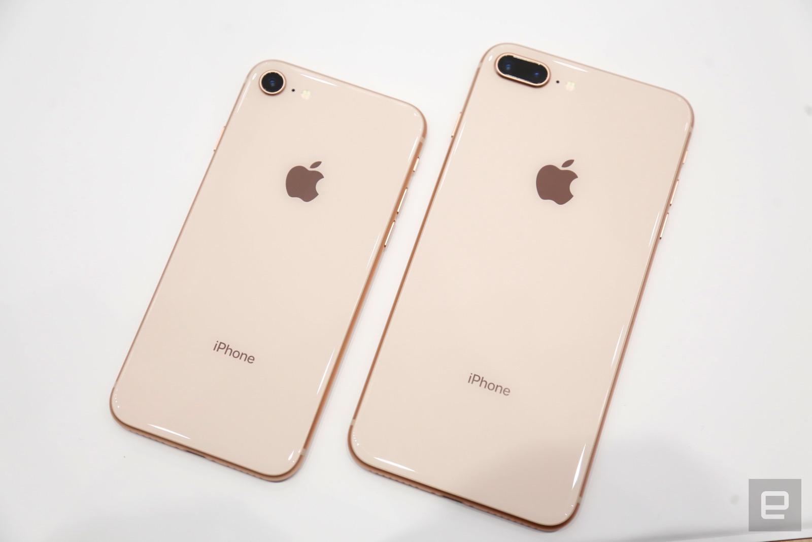 Los iPhone 8 y 8 Plus posan para ti: ¿demasiado familiar lo que ves?