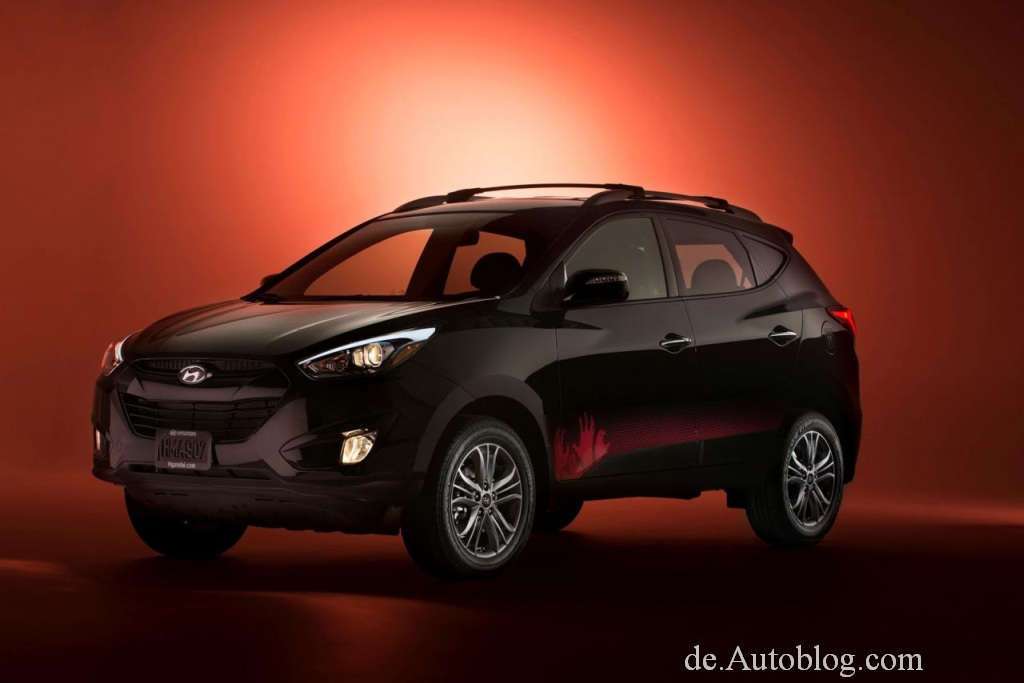 The Walking Dead, Hyundai, Comicon, Zombie fighter, Hyundai Tuscon,  Hyundai Tuscon The Walking Dead edition, sondermodell, funny, komisch, witzig, Hyundai ix35