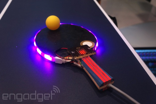 BBC's Micro:bit Ping Pong