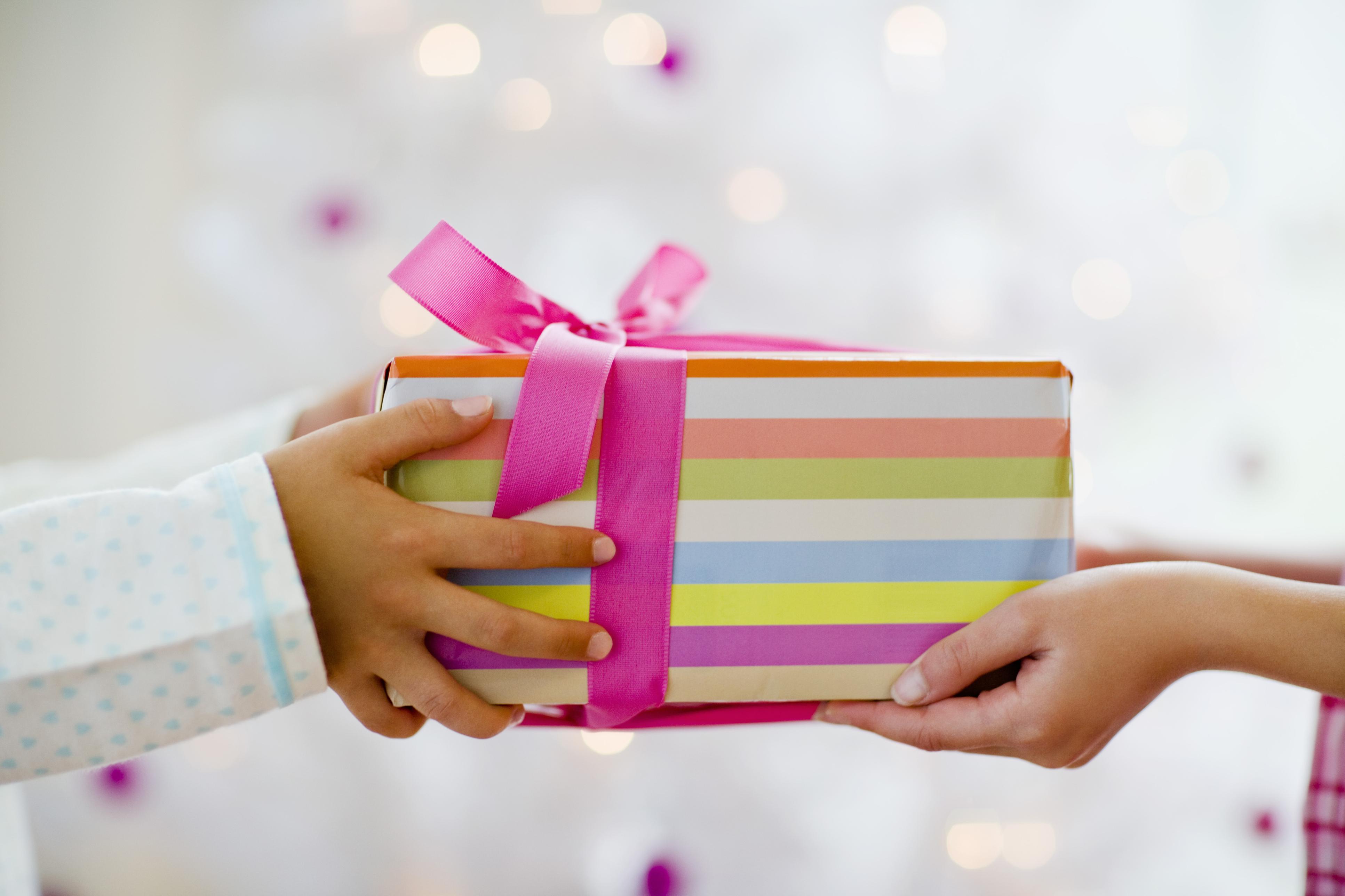 Сделай подарок нарядным