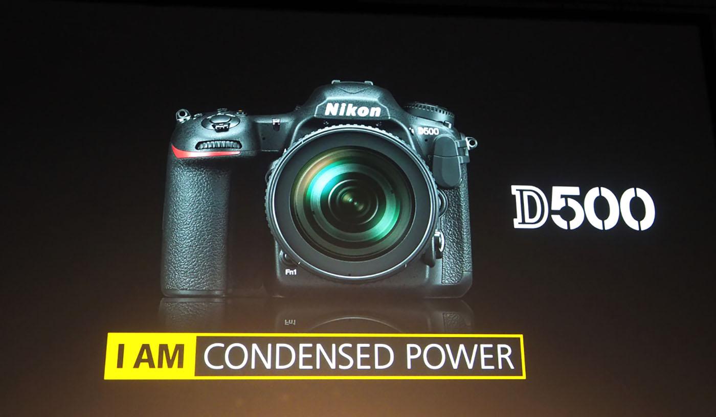 Nikon reveals the D500 DSLR with 'smart connectivity'