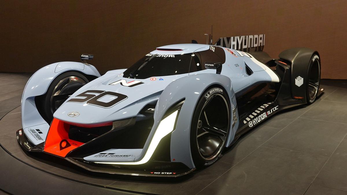 Hyundai N 2025 Vision Gran Turismo Concept looks ready for Le Mans