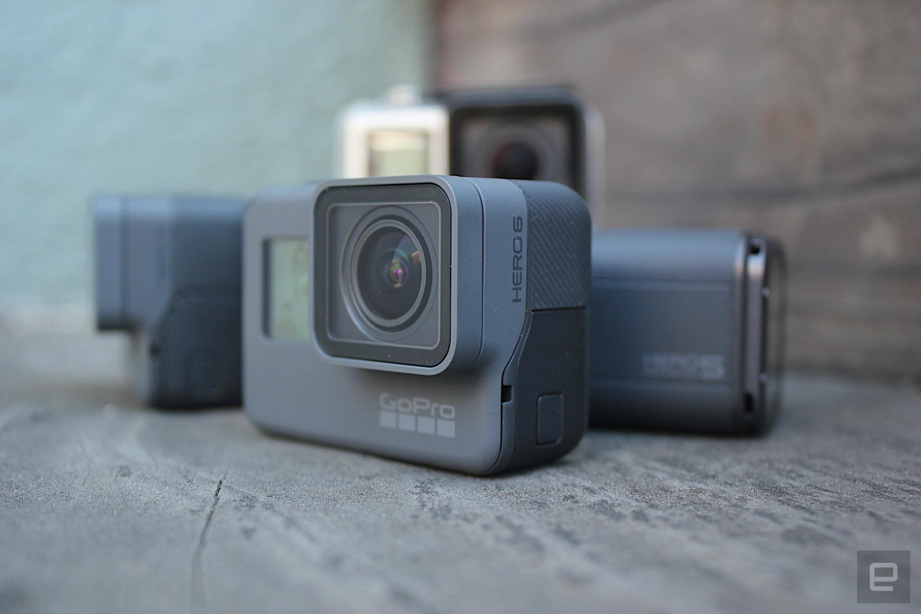 GoPro Hero6 viene con 4K a 60 fps, fotos HDR y mejor estabilización