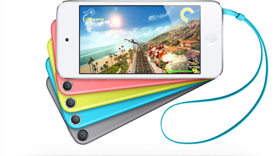 Los iPod touch ahora son más baratos, coloridos y añaden cámara iSight a la versión de 16 GB