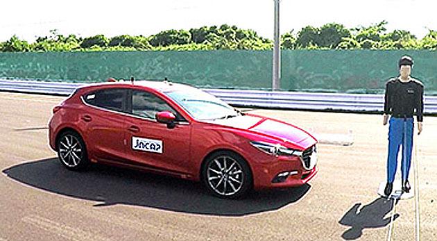 一番ぶつからないクルマはコレ!! マツダ「アクセラ」本年度自動車アセスメント予防安全評価最高ランク「ASV++」を獲得!!